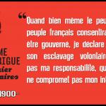 Que le contrat social est une monstruosité (par Anselme Bellegarrigue)