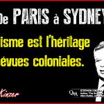 De Paris à Sydney – Le terrorisme est l'héritage des bévues coloniales.