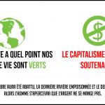 """Le capitalisme, vert ou pas, est un """"suicide écologique"""""""