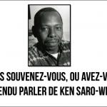 Ken Saro-Wiwa: mémoire de luttes