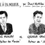 Se distraire à en mourir (BD: Aldous Huxley & George Orwell par Neil Postman)