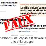 Un exemple de manipulation médiatique grossière, vis-à-vis des énergies dites renouvelables