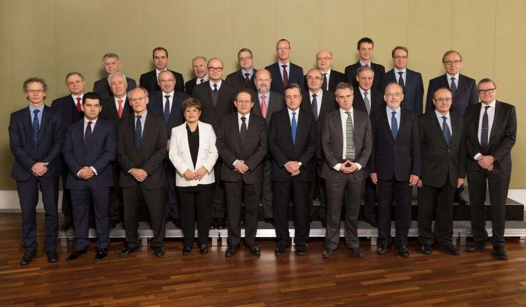 Le conseil général de la Banque Centrale Européenne (BCE): 25 hommes, 1 femme, que des blancs.