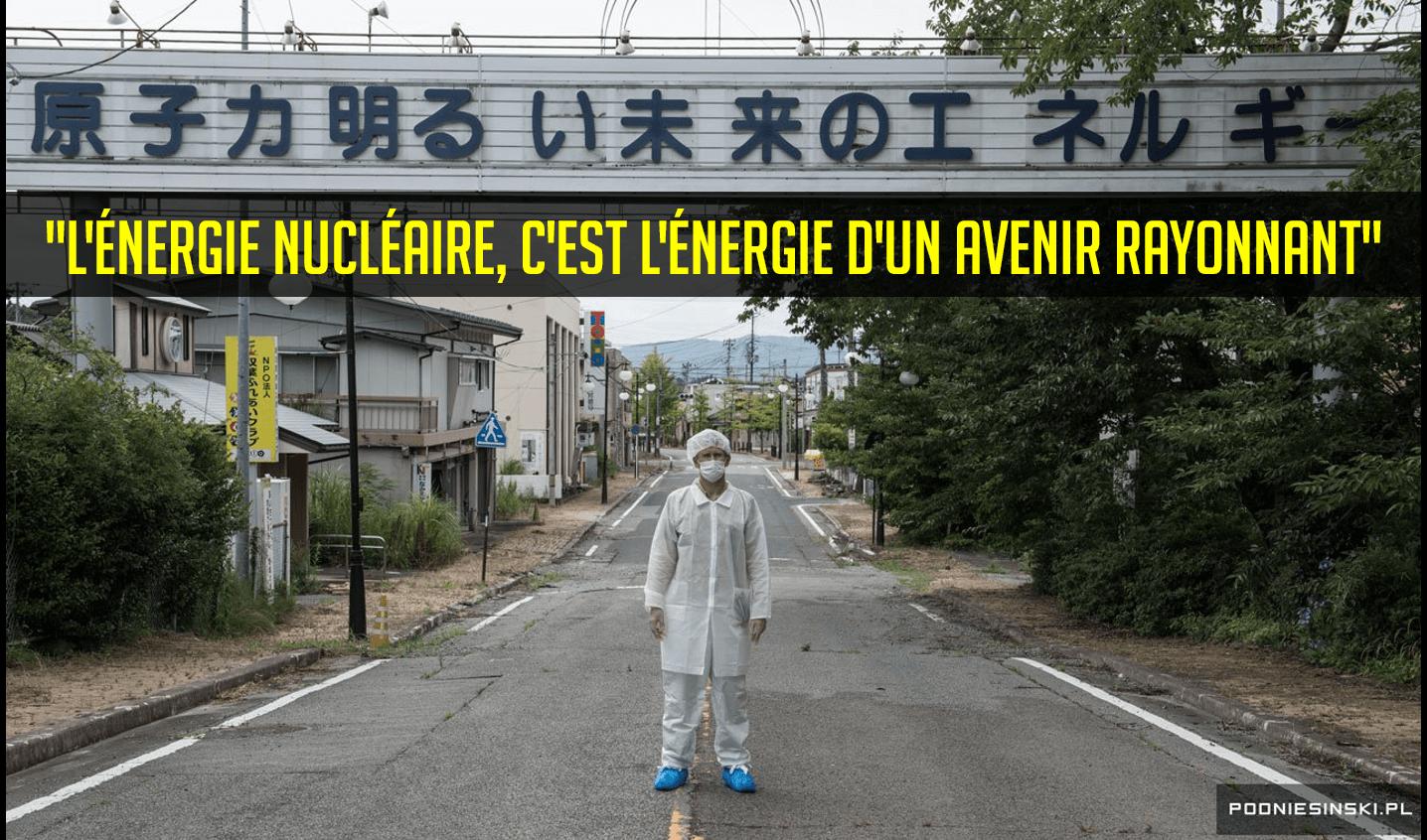 Ironie à Fukushima